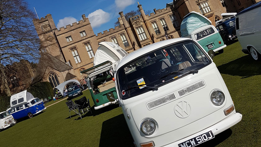 Clarence on show at the Clique 53 Spring Classics show at Newstead Abbey