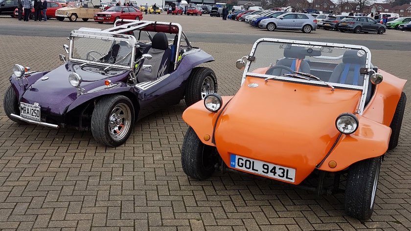 Beach Buggies at Spring Dub 18